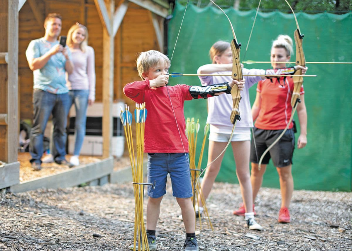 Archery | Finlake Holiday Resort, Chudleigh, Newton Abbot